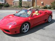2002 ferrari Ferrari 360 Spider Convertible 2-Door